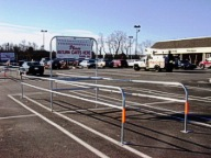 Custom cart corral