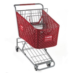 View the sizes of our plastic shopping carts