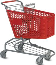 Picture of our Small plastic grocery carts
