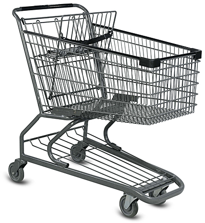 medium grocery cart